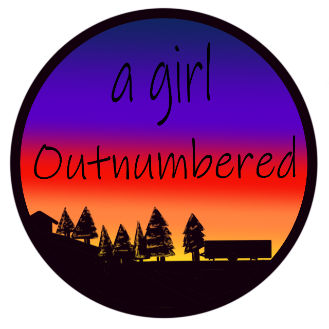 a girl Outnumbered